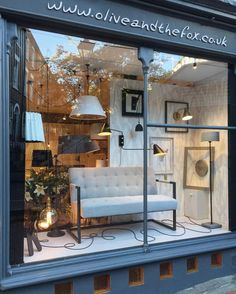 Window Display | Olive and the Fox
