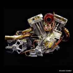 No 115: HARLEY DAVIDSON S&S EVOLUTION CHOPPER ENGINE | Flickr