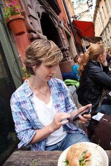 Rick Steves' using smartphones overseas