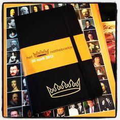 Moleskine Dutch Royal edition.