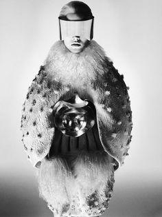 Alexander McQueen Fall 2012 Ad Campaign