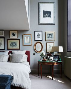 Interior designer Gytha Nuttall retained the impact of double-height ceilings when she decorated her flat in a converted nineteenth-century…