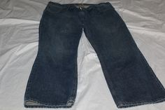 Levis signature 32x27 straight fit blue jeans pre-owned  #levis #straightfit