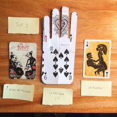 Top 3 de cartas encontradas por el mundo. #naipes #cards #viajes #diasdeviaje #tesoros #dumpsterdiving by anikovillalba