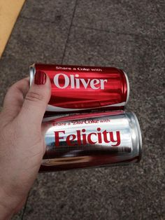 Because they didn't have #Olicity in the Share A Coke database #FandomAwards