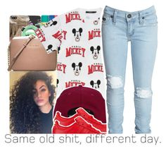 """""""snapback doesn't really match but -JaBria"""" by dopest-queens ❤ liked on Polyvore featuring H&M, adidas and Bardot Junior"""