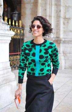 Yasmin Sewell, Luxury Fashion, Etre Cecile, Sunglasses, Street Style Photography, Fashion Week