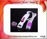 BIO Photon Massageador Elétrico e Dermaroller - Aparelho 3 em 1  Fototerapia com luz LED + Massagem vibratória + Bio-microcorrente