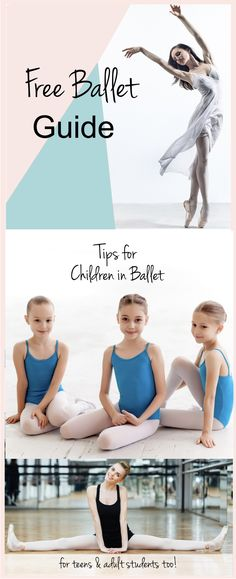 """Download this free Ballet Guide to improve your ballet technique on your own. Designed for any ballet student who needs new ideas or inspiration to achieve their goals!  Receive:    ~3 home study checklists  ~a video """"New Foot Stretches & Balance Exercises""""  ~chapters 1-3 from my ebook """"Dancer's Guide to Strong & Beautiful Feet""""  ~a """"Ballet Notes"""" ballet journal page  ~15% off any ballet product on my website!    Click on image to download!  #ballet#balletdancer#free via @The Accidental…"""