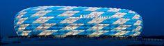 Allianz-Arena weiß/blau