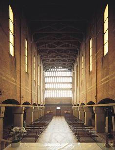Chiesa San Giovanni al Gatano Pisa 1947 // // by Saverio Muratori
