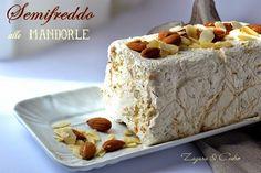 Parfait di Mandorle con salsa al Cioccolato caldo   Zagara e Cedro