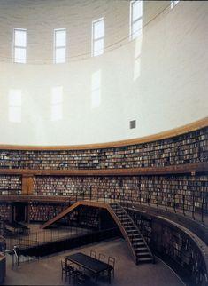 notenoughhangers:  Stockholm Public Library — Asplund