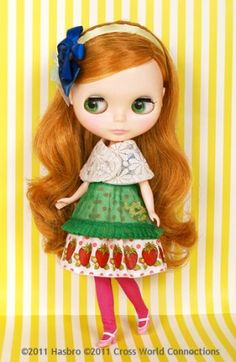 "Missed this! Meh! CWC Ex Neo Blythe ""Strawberries 'n Creamy Cute""  By CWC/ Emily Temple Cute"