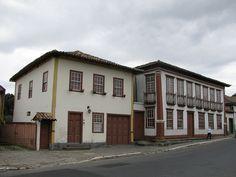Santa Luzia, MG - Brasil Casarões coloniais