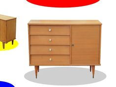 BUFFET COMMODE VINTAGE ANNEES 70