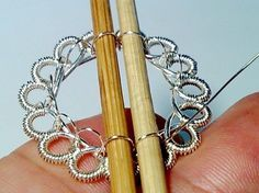 by Judy Ellis, Wirejewelry.com Wire Jewelry Tip for July 14th, 2017 Create Beautiful Wire Crochet with No Special Tools! by delilah You can work up beautiful wire crochet pieces with no crochet hook! Use simple barbecue skewers instead! Use 2 barbecue sticks and rotate them simultaneously for each perfectly round loop and pull the wire [...]