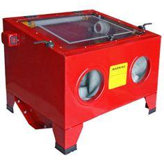 80PSI 25 Gal Bench Top Cabinet Air Sand Blaster Abrasive Sand Blast Sandblaster