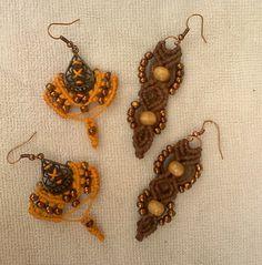 Fall Macrame Jewelry