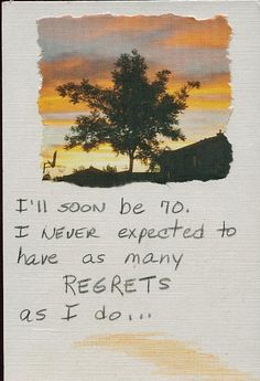 Secret from PostSecret.com    I don't want to end up like this.  I also wish I could help this person.