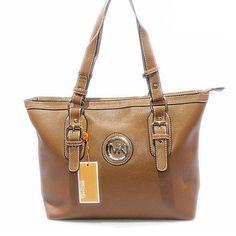 b93cc9bf7d6065 michael kors logo signature large brown tote Michael Kors Sale, Michael  Kors Hamilton, Handbags