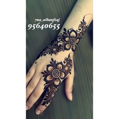 Floral Henna Designs, Finger Henna Designs, Arabic Henna Designs, Mehndi Designs For Girls, Modern Mehndi Designs, Mehndi Design Pictures, Wedding Mehndi Designs, Mehndi Designs For Fingers, Latest Mehndi Designs