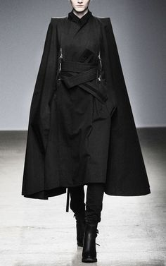 """star-wars-fashion: """" Outfit for a Sith Nicolas Andreas Taralis Fall 2010 """""""