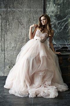 Princess wedding dresses style Marina. Wedding gowns. Bride dress. Wedding gown via ETSY