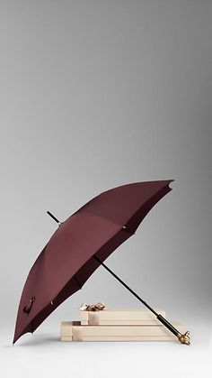 Burberry Fox Handle Walking Umbrella