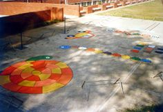 painted playground games