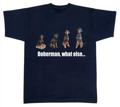 Dobermann, what else Dogs, Mens Tops, T Shirt, Fashion, Doberman, Supreme T Shirt, Moda, Tee Shirt, Fashion Styles