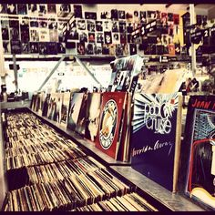 Amoeba in LA. One of the coolest record shops i have ever been too!