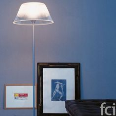Romeo Moon F #FloorLamp by #Flos starting from £1,008. Showroom open 7 days a week. #fcilondon #furniture_showroom_london #furniture_stores_london #Flos_lamps #modern_floor_lamps #Flos_floor_lamps