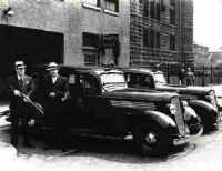 Sheriff's Office History- Late 1930s departmental vehicles, armored with machineguns