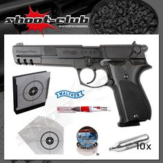Walther CP88 Competition - Co2 Pistole Kal. 4,5mm im Set