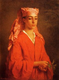 A North African Fellah - Henriette Browne - 1867