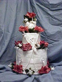 Bridal Shower Towel Cake
