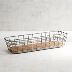 A little rustic, a little bistro, completely charming: An iron basket with a thick pine base that can hold rolls, fruit or bread. Can we pass one to you? Living Room Furniture Images, Farmhouse Living Room Furniture, Living Rooms, Small Living Room Design, Metal Vase, Farmhouse Christmas Decor, Rustic Farmhouse, Farmhouse Baskets, Farmhouse Plans