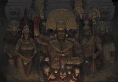 Ritual, Daniel Zrom on ArtStation at https://www.artstation.com/artwork/ritual-95b0950e-5c4b-408f-9a6e-6a67782ab59a