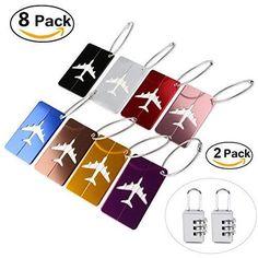 Oferta: 7.95€. Comprar Ofertas de ATA® Travel Bag Etiquetas de equipaje - (8 Pack) ID Etiquetas de dirección para bolsos de la maleta - Etiquetas fuertes de al barato. ¡Mira las ofertas!