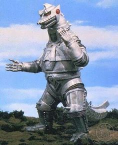 Mechagodzilla; mechanical Godzilla as the name implies.. Cool nonetheless.