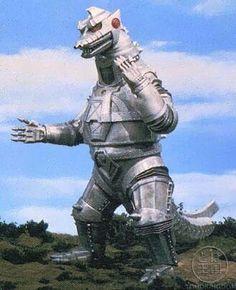 Mechagodzilla; mechanical Godzilla as the name implies.. Cool nonetheless.
