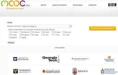 Mooc, buscador de cursos gratuitos en español próximos a su inicio
