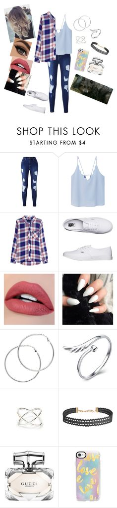 """""""confronting paul"""" by annaconley on Polyvore featuring MANGO, Rails, Vans, Melissa Odabash, Humble Chic, Gucci and Casetify"""