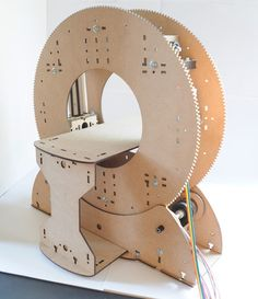 Towards an inexpensive open-source desktop CT scanner Pi Projects, Arduino Projects, Electronics Projects, Project Ideas, Laser Cut Plywood, Laser Cutting, Scanning Machine, Tech Image, Open Source Hardware