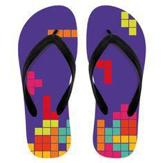 Tetris Animal Crossing, Flip Flops, Sandals, How To Wear, Shoes, Fashion, Pictures, Picture Logo, Bathing