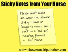 Flower Slinky  http://www.showmanshipathalter.com