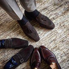Sprezzatura-Eleganza | frecciabestetti: Loafers time at Bestetti Shoes...