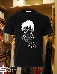 Harry Potter white tee inspired design for men  by sweatsweatz, $19.00
