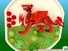 Wales - Saint David's Day - Dydd Santes Dwynwen - Welsh Flag Themed Multi-sensory - Coloured Rice Tray Ideas and Activities Coloured Rice, Welsh Gifts, Saint David's Day, Tuff Tray, Multi Sensory, Eyfs, Role Play, Wales, Teaching Ideas
